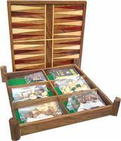 Backgammon Chess Wood