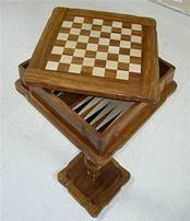 Chess Backgammon Table