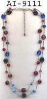 Colouerd Bead Necklace